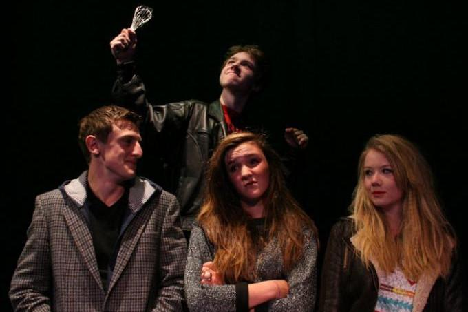 A one act comedy for 4 people and an egg whisk - CYT Bromyard